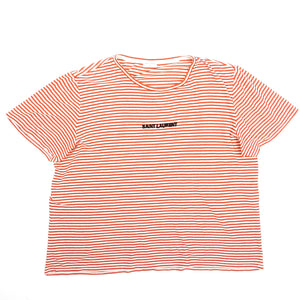 Saint Laurent 2017 Stripe Tee XXL