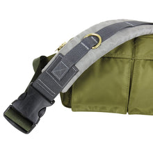 Load image into Gallery viewer, Sacai Army Green Nylon Cross-Body Belt Bag.