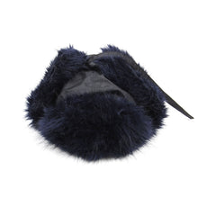 Load image into Gallery viewer, Sacai Faux Fur Hat Navy