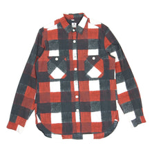Load image into Gallery viewer, Sasquatch Fabrix Check Shirt Red Large