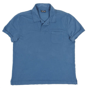 Tom Ford Polo Shirt Blue 56