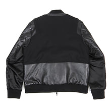 Load image into Gallery viewer, Tim Coppens Bomber Jacket Black Small