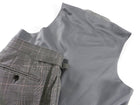 Tom Ford 3 Piece Grey White and Black Check Suit - 42