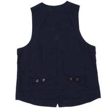 Load image into Gallery viewer, Universal Works Vest Navy Small
