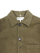 Load image into Gallery viewer, Universal Works Bakers Jacket Olive Medium