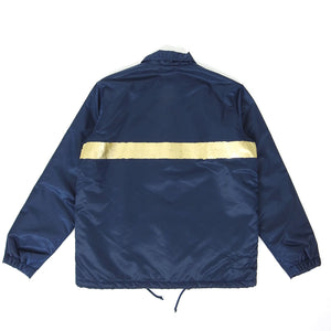 Universal Works Clo Insulated Coach Jacket Navy/Gold Medium