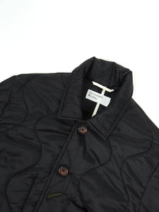 Universal Works Quilted Bakers Jacket Black Medium