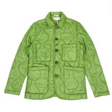Load image into Gallery viewer, Universal Works Quilted Bakers Jacket Green Medium