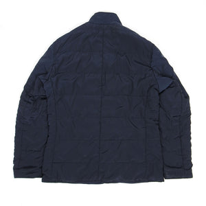 Universal Works Reversible Padded Bakers Jacket Navy Medium