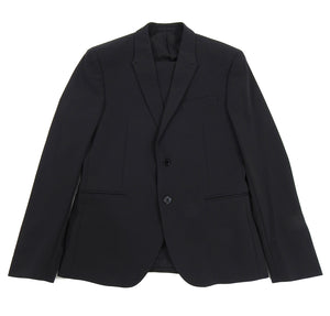 Versace Collection By Gianni Versace Two Piece Wool Blend Black Suit