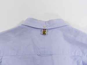 Visvim Denim Knit Pocket Button up - S