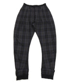 Vivienne Westwood Navy Grey and Brown Plaid Cropped Trousers
