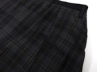 Vivienne Westwood Navy Grey and Brown Plaid Cropped Trousers - 32