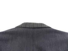 Load image into Gallery viewer, Yohji Yamamoto Vintage 90's Grey Pinstripe Jacket - M