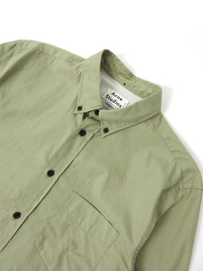 Acne Studios Button Up Green Size 50