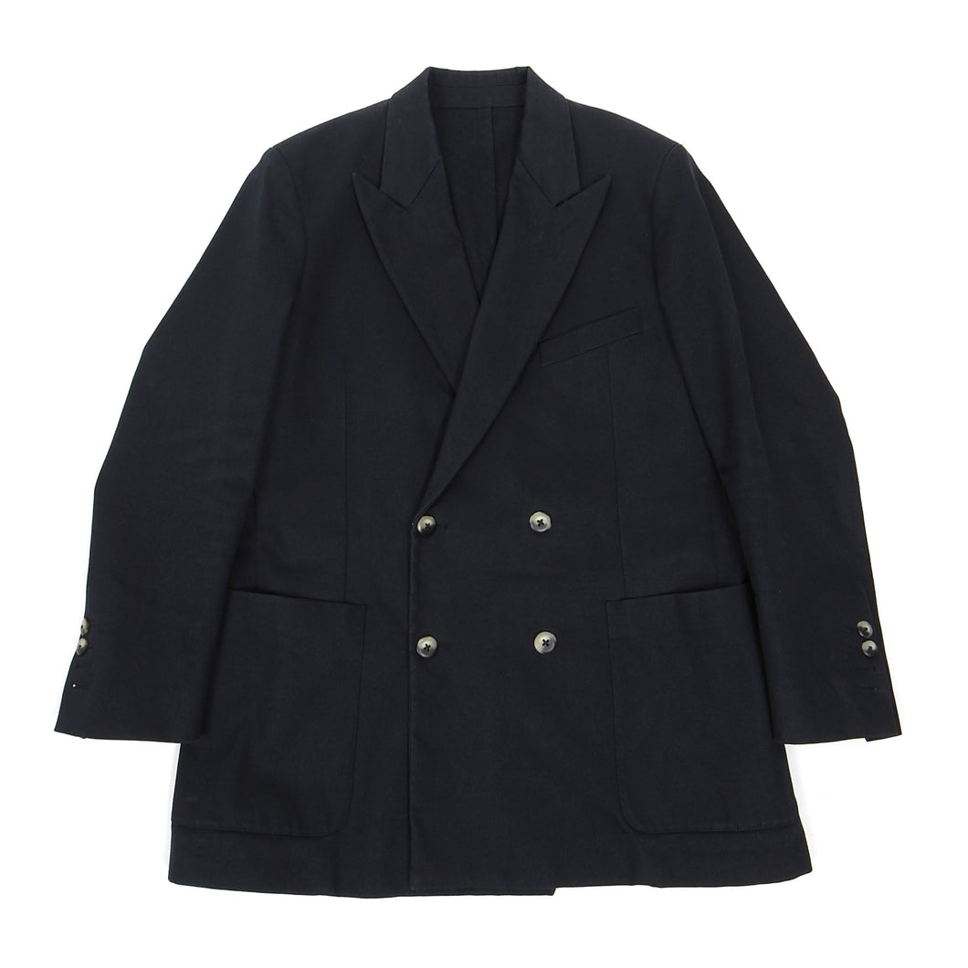 Ami Navy Double Breasted Blazer Size 48