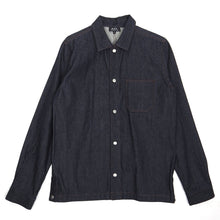 Load image into Gallery viewer, A.P.C. Denim Snap Button Shirt Medium