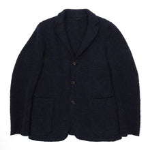 Load image into Gallery viewer, Aspesi Navy Boiled Wool Jacket Large