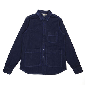 Aspesi Denim Chore Jacket