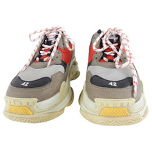 Load image into Gallery viewer, Balenciaga Triple S Trainers - Red, Blue, Grey - 9