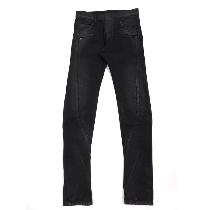 Balman Black Waxed Denim Size 30