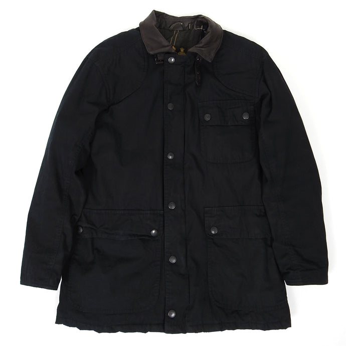 Barbour Waterproof Coat Black Small