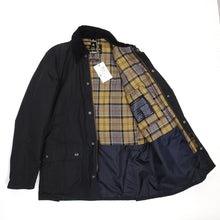 Load image into Gallery viewer, Barbour Black Ashby Waxed Jacket Medium