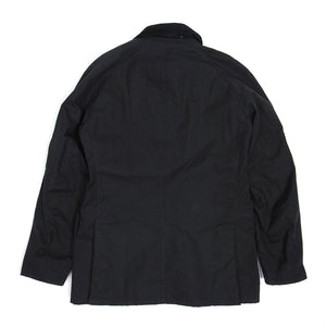 Barbour Black Ashby Waxed Jacket Medium