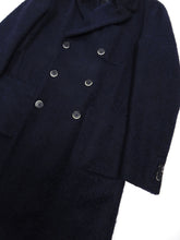 Load image into Gallery viewer, Barena Navy Wool Overcoat Size 50