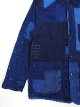 Load image into Gallery viewer, Blue Blue Japan Indigo Patchwork Jacket Large