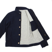Load image into Gallery viewer, Bleu De Paname Navy Jacket Medium