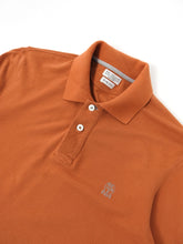 Load image into Gallery viewer, Brunello Cucinelli Longsleeve Polo Orange Small