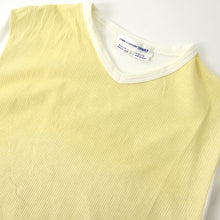 Load image into Gallery viewer, CDG Shirt Striped Tee Yellow Large
