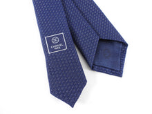 Load image into Gallery viewer, Chanel Blue Silk Men's Skinny Tie in Box