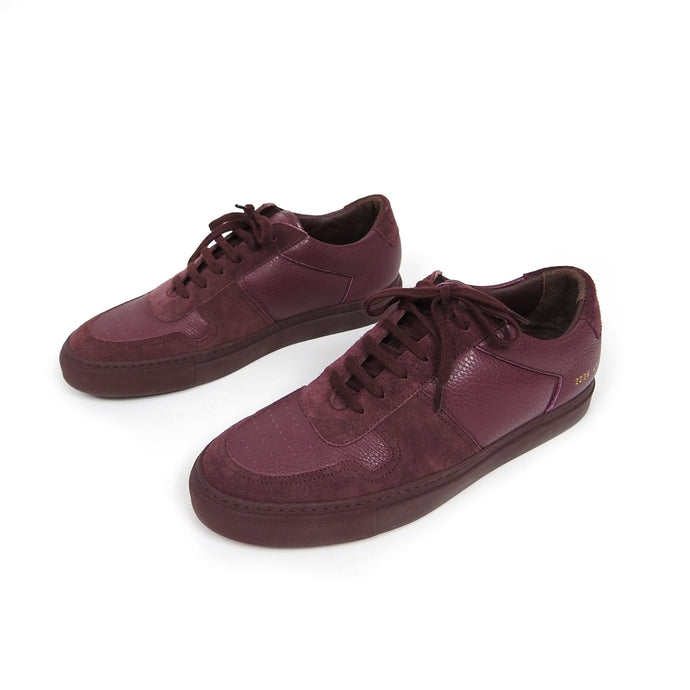 Common Projects BBall Low Premium Bordeaux Size 41