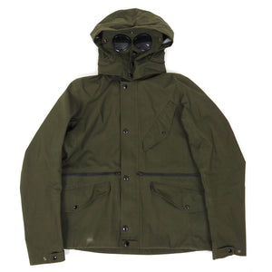 CP Company Goggle Waterproof Jacket Green Size 53