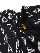 Load image into Gallery viewer, Chinatown Market Graphi Hoodie Black Large