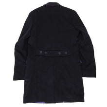 Load image into Gallery viewer, Danielle Alessandrini Cashmere Coat Black Size 48