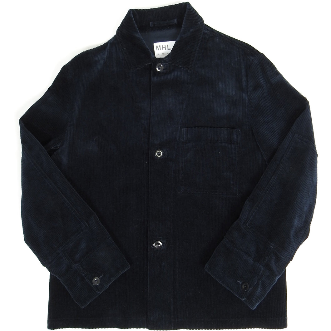 Margaret Howell MHL 3 Button Corduroy Jacket Navy Small