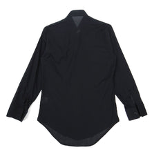 Load image into Gallery viewer, Dior Homme Black Tuxedo Shirt Size 39