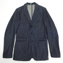 Load image into Gallery viewer, Raf by Raf Simons Denim Blazer Blue Size 48