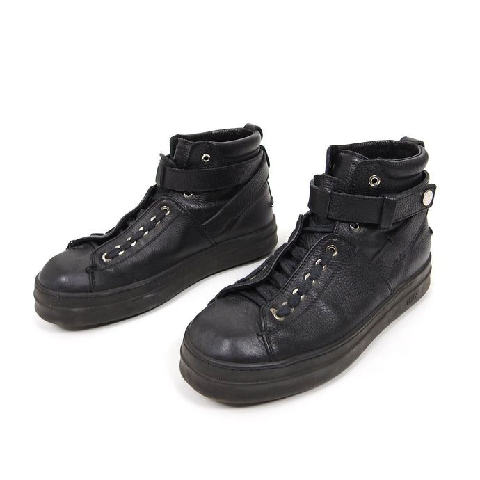 Fendi Lace Up Boot Black UK8
