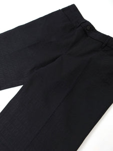 Fendi Navy Logo Trousers Size 52