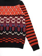 Load image into Gallery viewer, Salvatore Ferragamo Pattern Turtleneck Medium