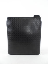 Load image into Gallery viewer, Ferragamo Black Leather Gancini Messenger Bag