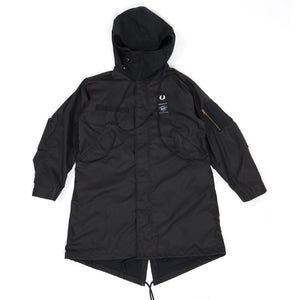 Fred Perry x Art Comes First Parka Black Medium