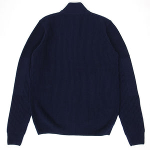 Fred Perry Zip Knit Navy Medium