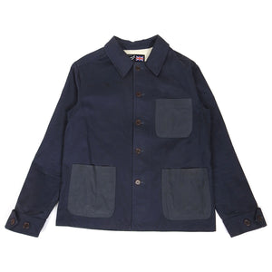 Gloverall Work Jacket Navy Large