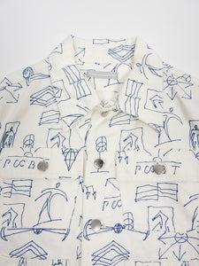 Gosha Rubchinskiy Scribble Denim Jacket Medium