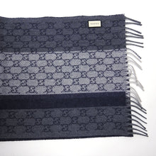Load image into Gallery viewer, Gucci GG Supreme Cashmere/Wool Scarf
